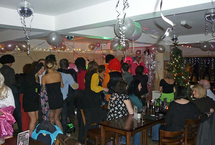 Party time at Sugareef Bar and Restaurant