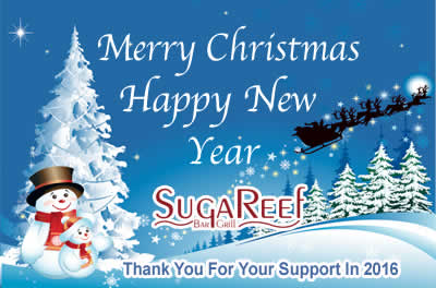 Merry Christmas and a Happy New Year From Sugareef
