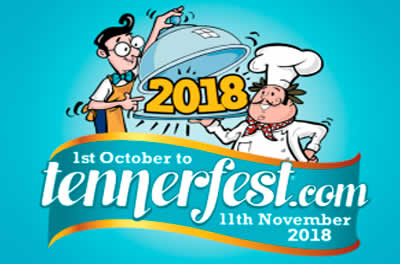 The New Sugareef Restaurant Tennerfest 2018 Menu